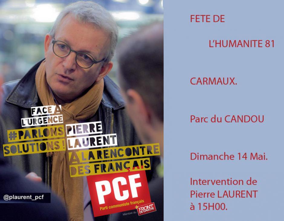 CARMAUX Parc du CANDOU FETE DE L'HUMANITE 81.
