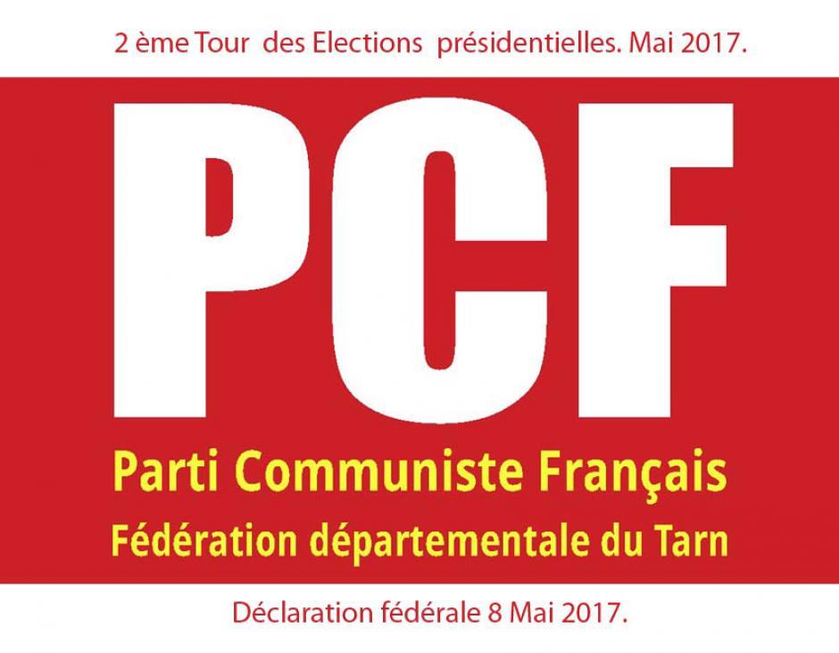 Communiqué de la Fédération PCF du Tarn