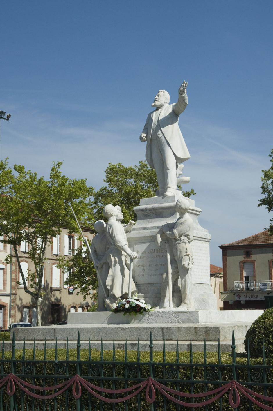 Un 31 juillet de mémoire active à Carmaux .....pour commémorer l'assassinat de Jaurès