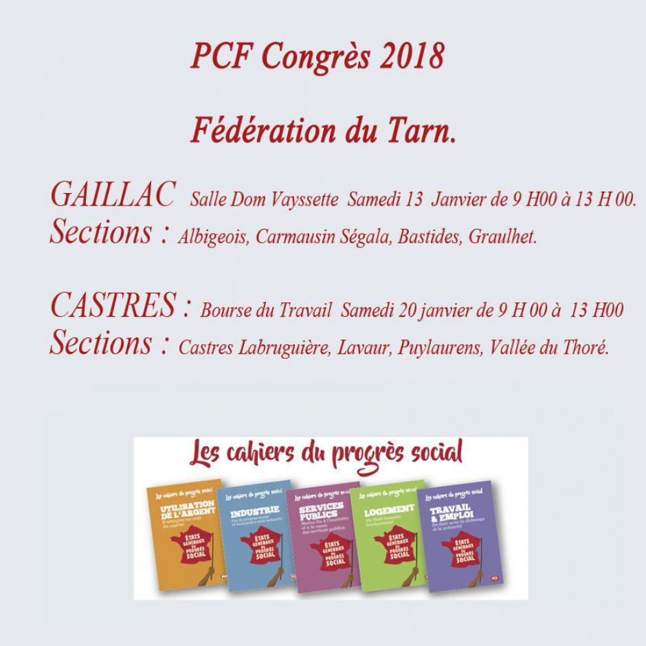 La Fédération du Tarn dans le congrès