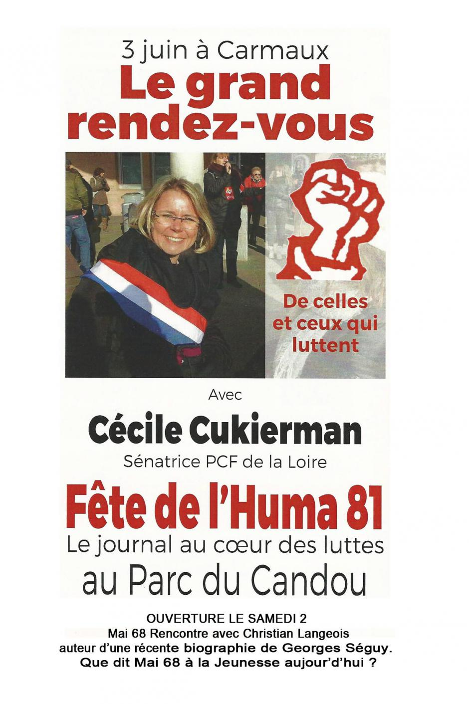 FETE DE L'HUMANITE 81