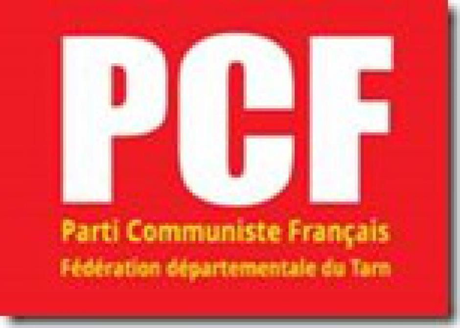 Communiqué Fédération PCF Tarn.1er septembre