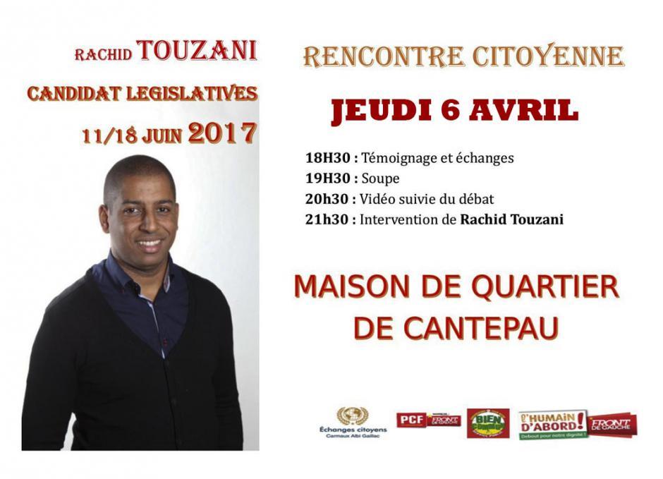 Réunion citoyenne à Cantepau Albi
